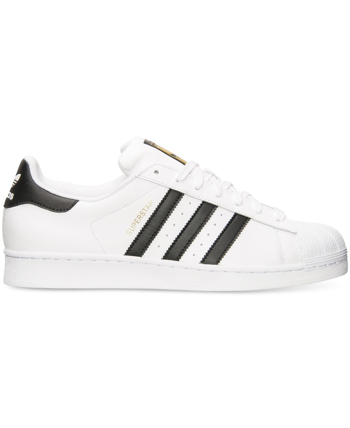 adidas Originals Men's Superstar Casual Sneaker, White/Core Black/White, 9.5 M US by adidas Originals (Image #2)