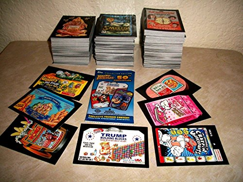 2017 Wacky Packages 50th Anniversary Series Lot of 30 Different Sticker Cards + 2 Cereal Killer cards ()