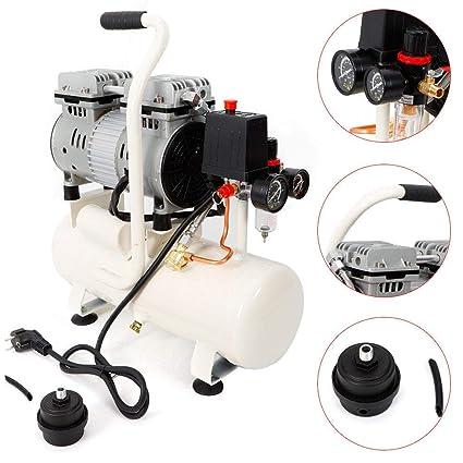 Z&Y 1400rpm 680W Susurro compresor silencioso compresor de aire comprimido de aire comprimido 9L