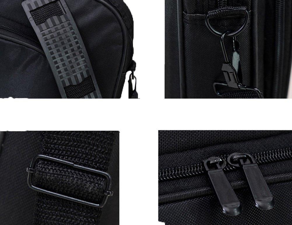 Messenger Bag For 15 Inch Laptop Computer Bag Macbook Shoulder Bag Business Backpack College Bookbag Travel Business Backpack Black Bag by FL Margaret (Image #7)