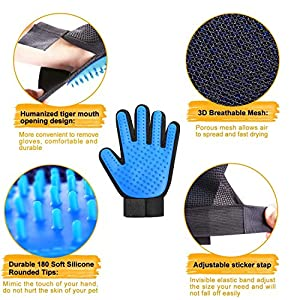 Top Rated Best Pet Grooming Gloves available   Buying Guide
