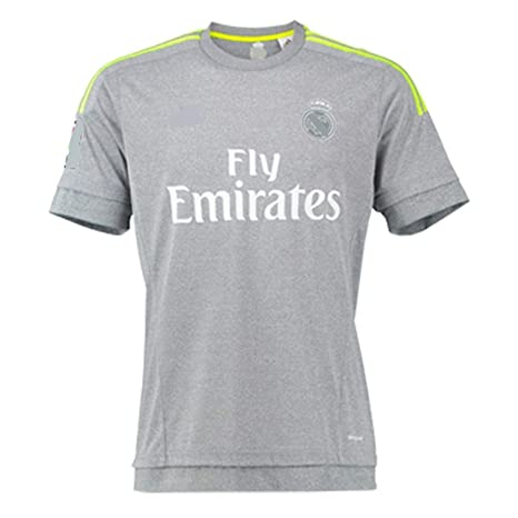 Men s Football Soccer T-Shirt XXL Size Grey Colour with Ronaldo Written at  Back a64caafca