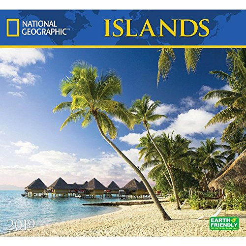 National Geographic Islands 2019 Wall Calendar