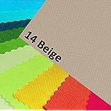 Oxford 600D couleur 14/beige polyester tissu 1 mètre courant extérieur étanche très résistant à la déchirurw robuste PVC toile de voile bâche de recouvrement tente sac à dos sac