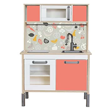 Ikea kinderküche  Klebefolie passend für deine IKEA Kinderküche DUKTIG (Farbe ...