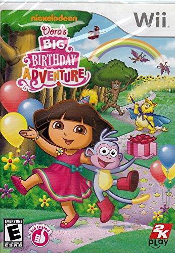 Big Adventure Wii - Dora the Explorer: Dora's Big Birthday Adventure - Nintendo Wii