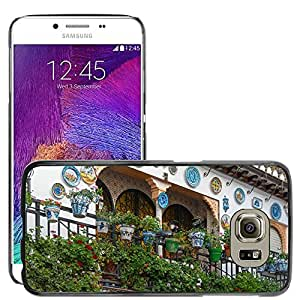 Hot Style Cell Phone PC Hard Case Cover // M00171532 Granada Spain Building Decorated // Samsung Galaxy S6 (Not Fits S6 EDGE)