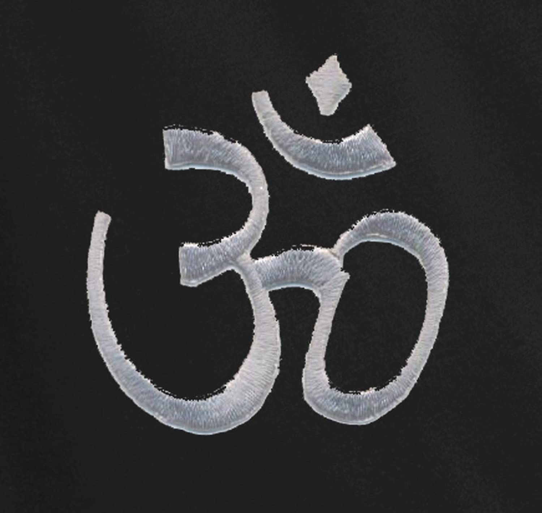 Yoga Clothing For You Ladies Hindu Om Symbol Bling Shirt