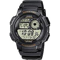 Casio AE-1000W-1AVCF - Reloj (Pulsera, Resina, Negro, CR2025, 10 Año(s), 4.81 cm)