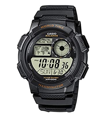 13fc0f0562 Buy Casio Youth Digital Grey Dial Men's Watch - AE-1000W-1AVDF (D080)  Online at Low Prices in India - Amazon.in
