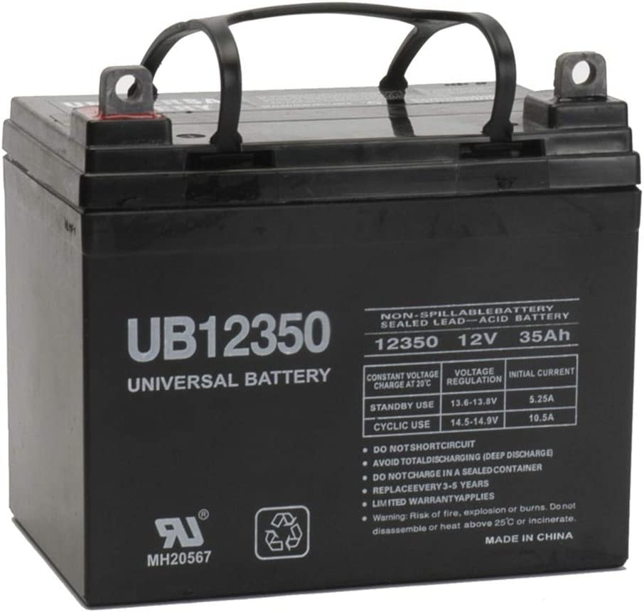 12V 35AH Wheelchair Battery Replaces 33ah Power Patrol SLA1155