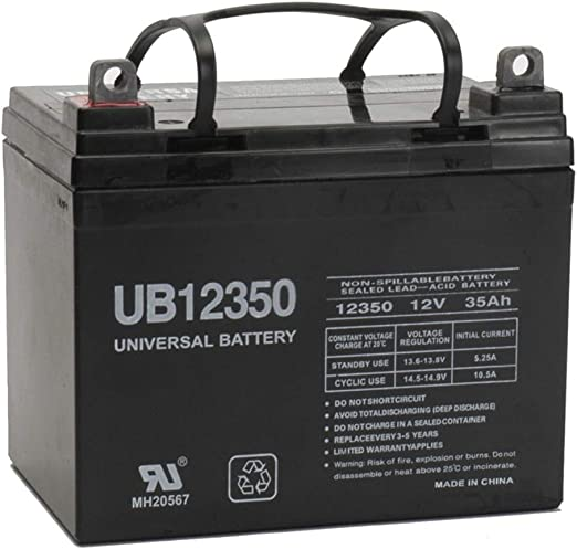 Universal Power Group UPG-D5722(KIT4-1) - ​Best Lawn Battery for High Amperage