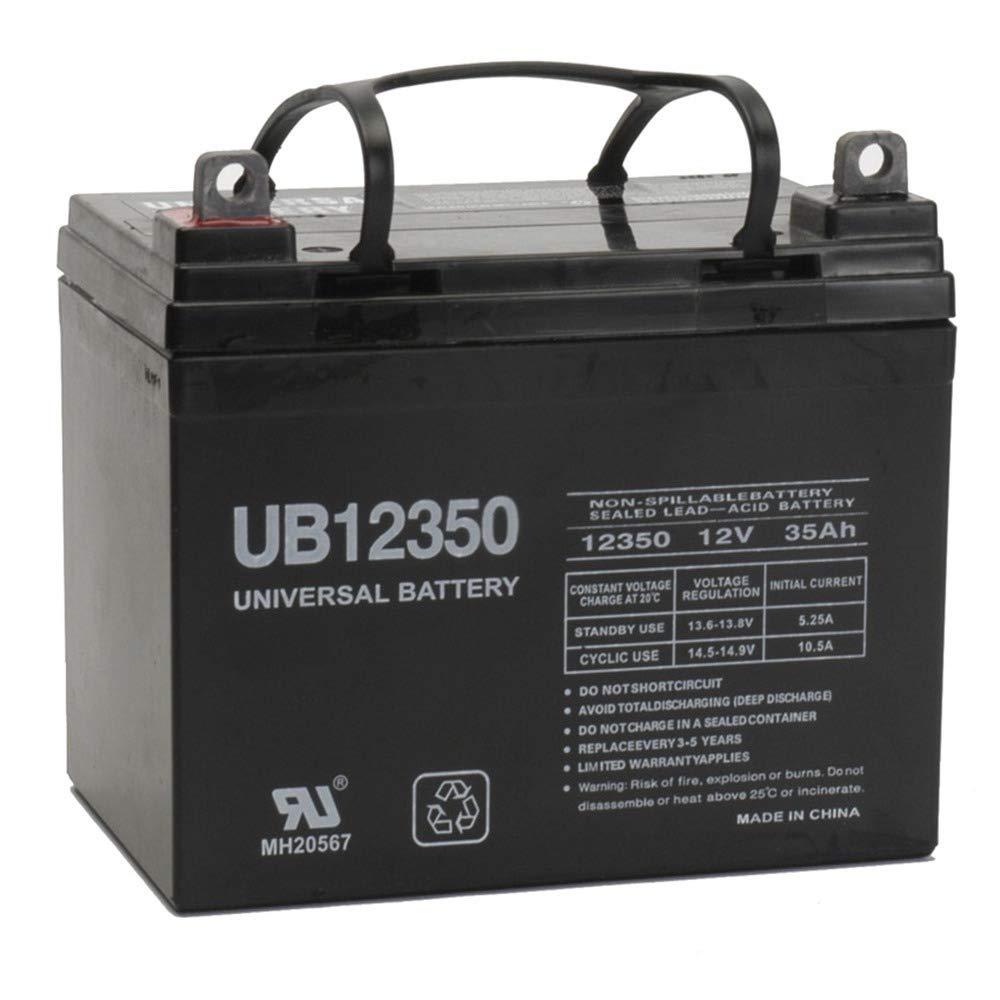 Universal Power Group 12V 35Ah Battery for John Deere Lawn Garden Tractor Riding Mower SLA by Universal Power Group