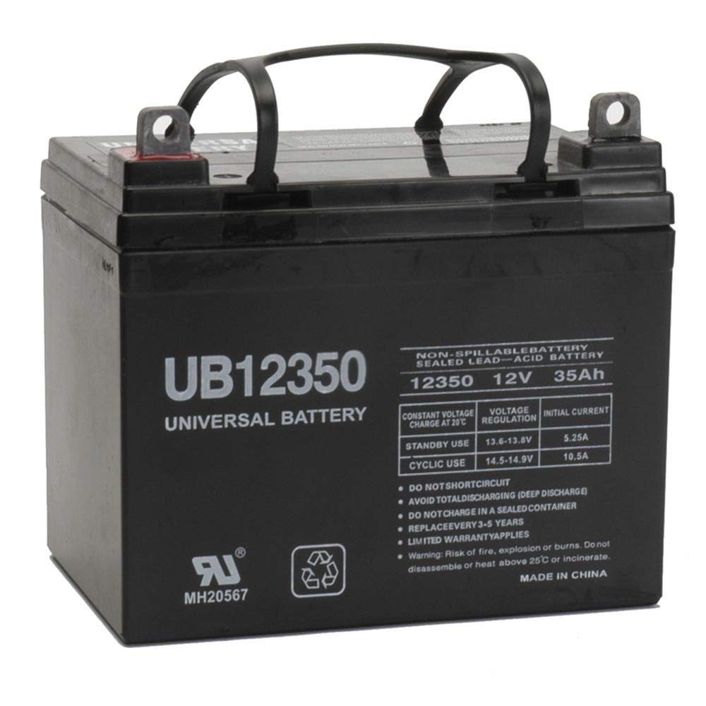Universal Power Group 12V 35AH Battery Invacare Pronto P31 Scooter Chair