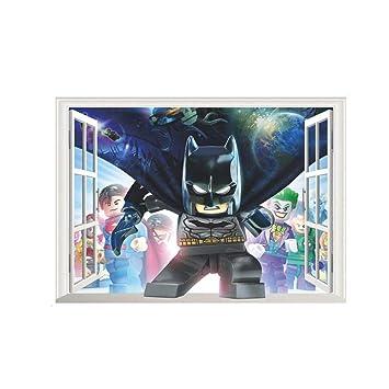 JUNMAONO Batman Wandaufkleber/Wandgemälde/Wand Poster/Wandbild ...