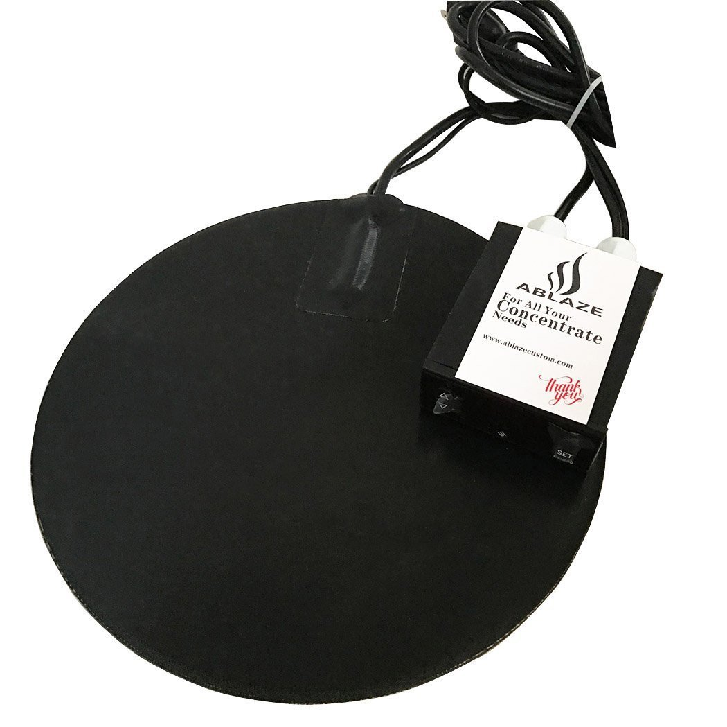 ABLAZE 8 Inch Vacuum Chamber Heat Pad for Stainless Steel Glass Aluminum Chamber
