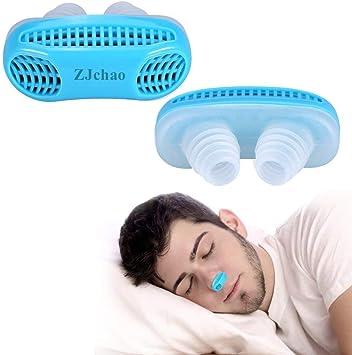 ZJchao - Dispositivo Anti Ronquidos, azul: Amazon.es: Salud y cuidado  personal