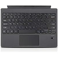 Lightweight Ultra Slim Bluetooth Keyboard for Microsoft Surface Pro 3 Pro 4 Pro 5 Pro 6 Pro 7 (Gray)