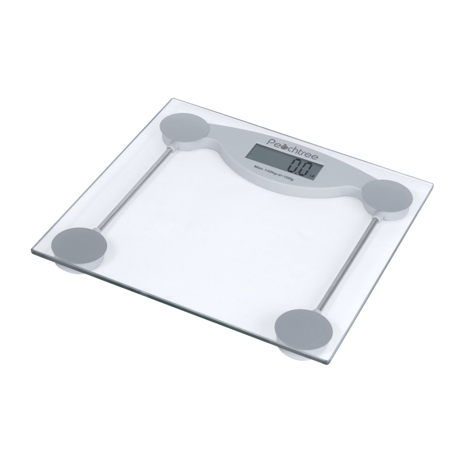 Superbe Amazon.com: Peachtree GS 150 Tempered Glass Digital Bathroom Scale With LCD  Display And 330 Pound Capacity: Health U0026 Personal Care