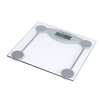 Peachtree GS 150 Tempered Glass Digital Bathroom Scale with LCD Display and  330 Pound. Amazon com  Peachtree GS 150 Tempered Glass Digital Bathroom Scale