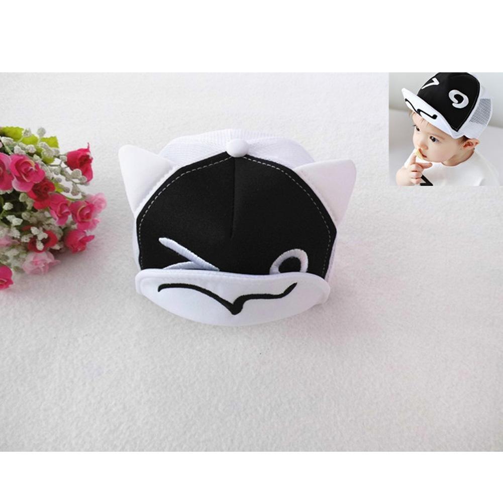 Black Everpert Baby Hats Baseball Cap Baby Boy Beret Baby Girls Sun Hat