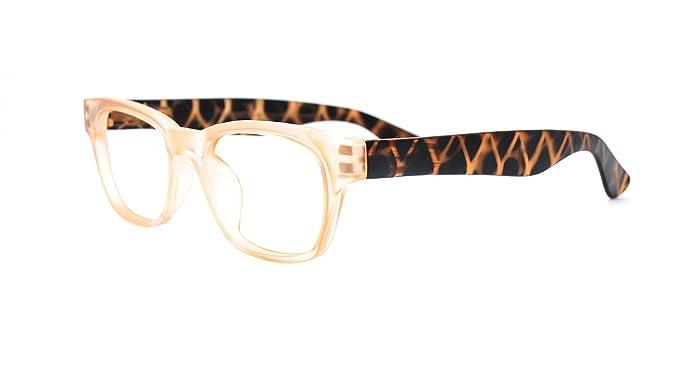 32a9f339f4 Eyejets Madrid Wayfarer Designer Reading Glasses (MATTE CHAMPAGNE FRAME   MATTE TORTOISE TEMPLES
