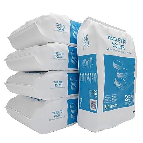 5 Bag pastillas de – regenerie Sal 25 kg=125 kg Water Softener Salt