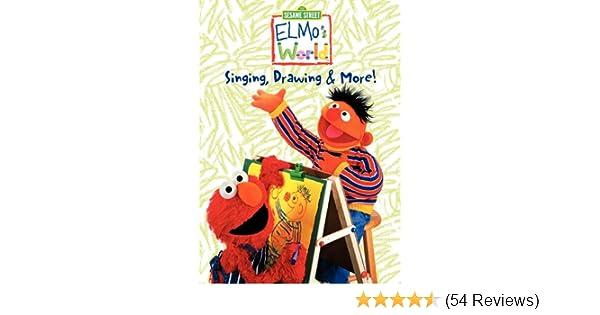 Amazon Com Elmo S World Singing Drawing More Kevin