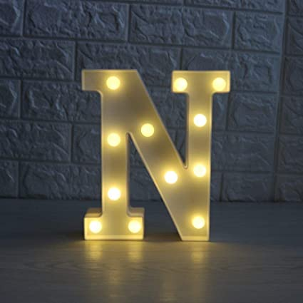 Amazon Com Focux Led Marquee Letter Lights Alphabet Light Up Sign