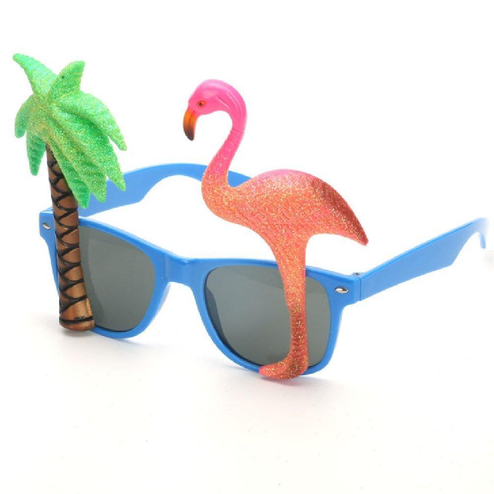 Ponce Fashion Flamingo Beach Party Sunglasses Glitter Beach Glasses Party Supplie Decoration