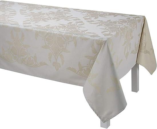 Le Jacquard Francais - Mantel Rectangular de algodón Syracuse VAR. Dolce con servilletas: Amazon.es: Hogar