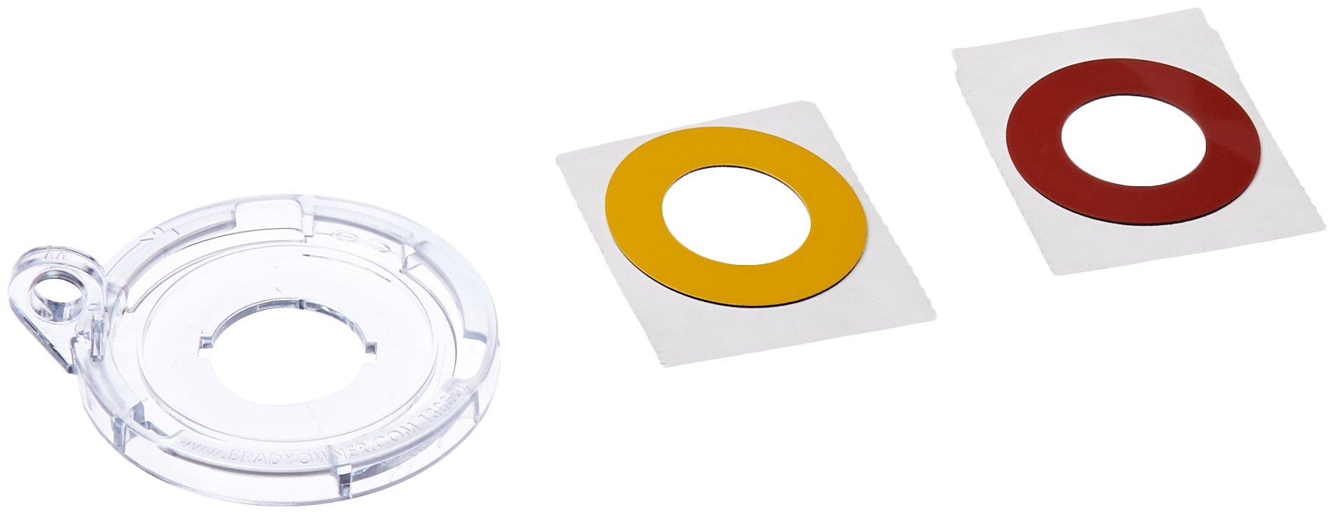 Brady 130823 Push Button Lockout Base, Plastic, 22 mm