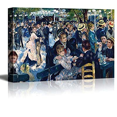 Lovely Design, Bal du Moulin de la Galette by Pierre Auguste Renoir, Classic Artwork