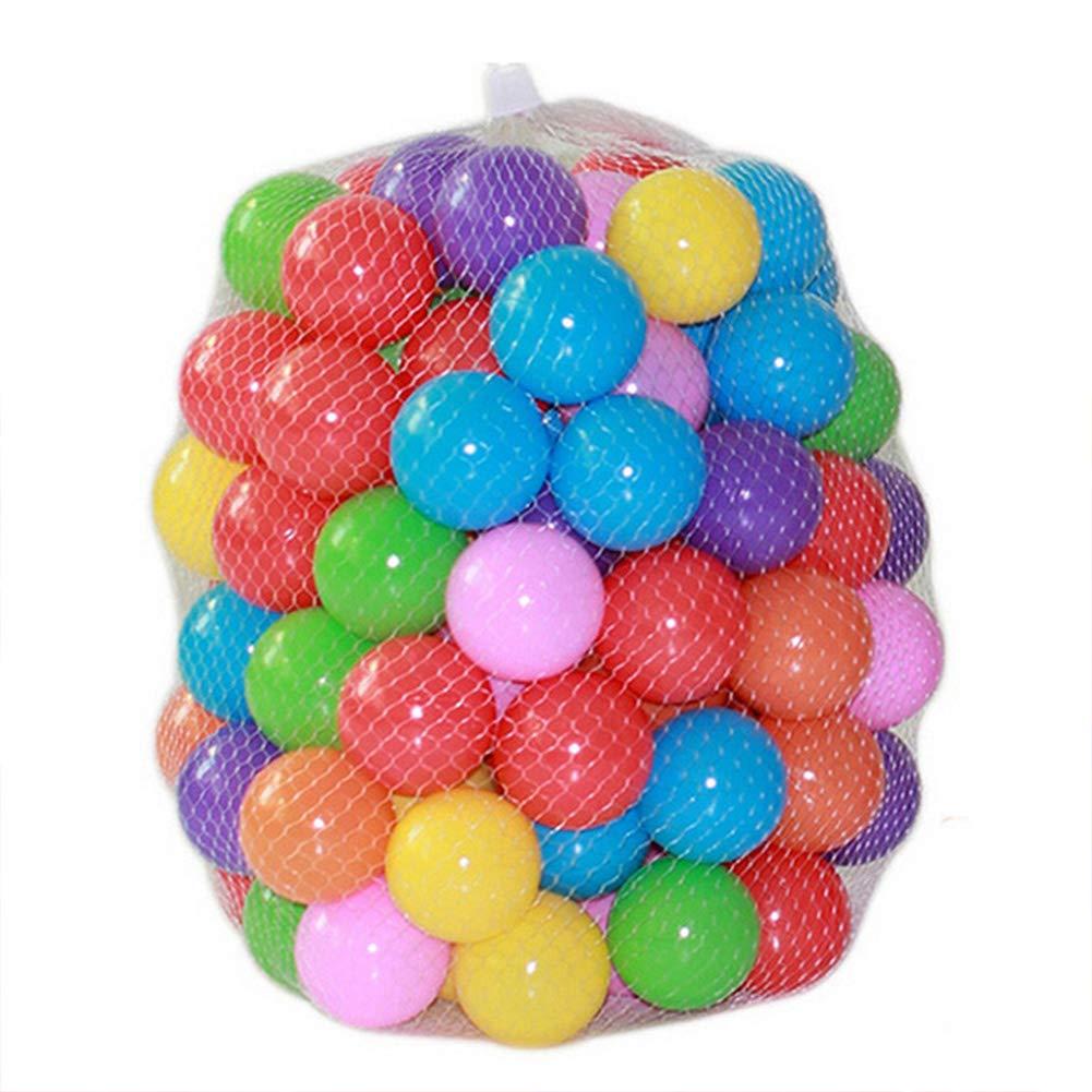 EisEyen 200PCS Respetuoso del Medio Ambiente Bola de Colores de ...