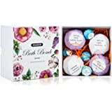 SMAGREHO Bath Bombs Gift Set - 3 X 3.5 Oz and 3 x 2.1 OZ Ultra Lush Essential Oil Handmade Spa Bath Bomb Fizzies - Organic & Natural Ingredients & mineral salt for Moisturizing Dry Skin
