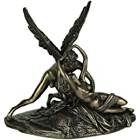 Veronese Design Resin Statues Cupid and Psyche Classic Mythology Bronze Finished Statue 7.5 X 7 X 4.5 Inches Bronze