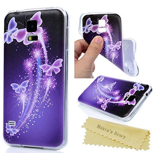 Transparent Rubber Case for Samsung Galaxy S5 i9600 G900 (Clear) - 6