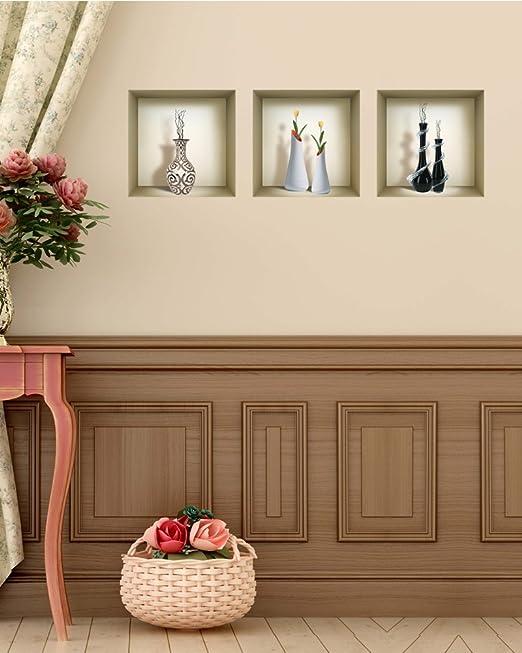 Wall Decals Living Room Niche wall Sticker Set 3D Wall Decor Wall Decals NS4