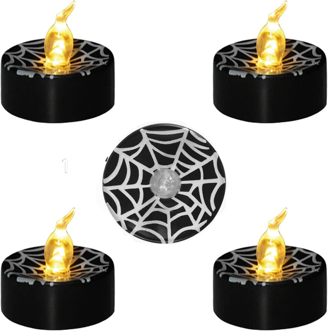 Amazon LedBack Halloween Decorations Candle Black Tea
