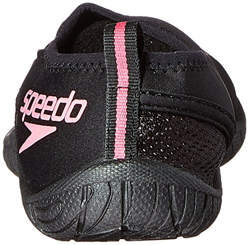 Speedo Womens Surfwalker 3.0-W, Black/Pink, 7 M US