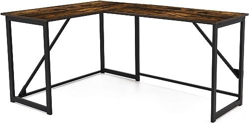 HILERO L-Shaped Computer Desk
