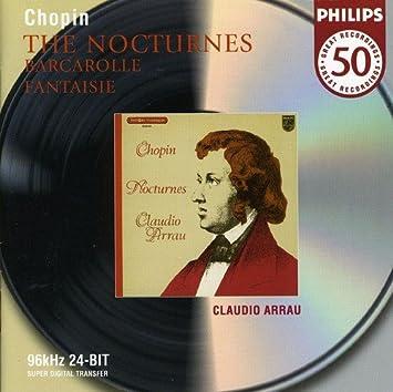 Barcarolle Wikipedia >> Claudio Arrau Frederic Chopin Chopin Nocturnes Barcarolle