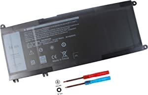 56WH 33YDH Battery Compatible with Dell Inspiron 17 7000 7779 13 7353 17 7778 15 7778 15 7577 P30E 7786 7773 3779 G5 / 7588 3579 5587 G7 / G3 Latitude 13 3380 14 3490 15 3590 3580 PVHT1 81PF3 081PF3