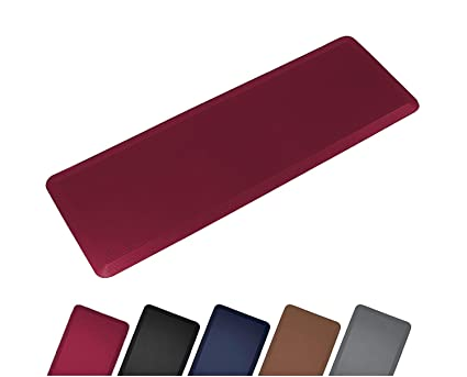 Anti Fatigue Comfort Long Floor Mat By Sky Mats - Commercial Grade Quality  Perfect for Standup Desks, Kitchens, and Garages - Relieves Foot, Knee, and  ...