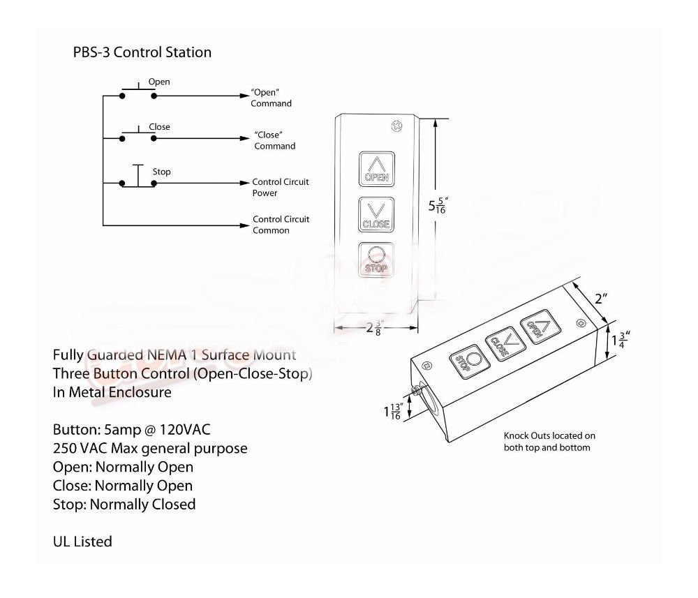 Pbs 3 Wiring Diagram | Wiring Diagram Open Close Stop Wiring Diagram on