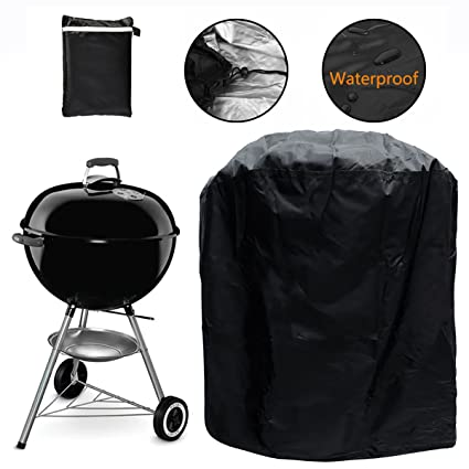 Amazon Com Grill Cover Kettle Style Barbecue Grill Cover