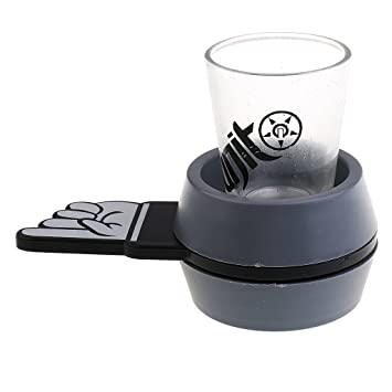 Spinner Spin The Shot Roulette Glass Drinking Game Funny Bar Party Gift Toys