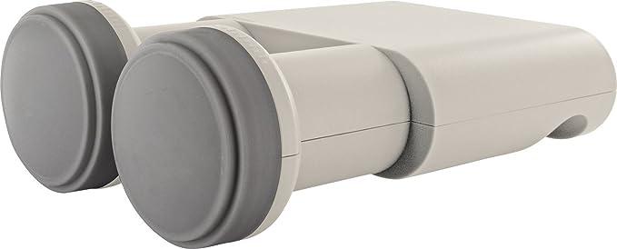 SCHWAIGER -5095- LNB cuádruple monobloque | 2 LNB en una Sola Carcasa (LNB Doble) | para Uso con Antena parabólica | multialimentación con Cubierta de ...