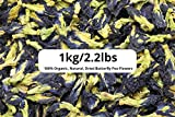 1kg/2.2lb Dried Butterfly Pea Flowers – Wholesale