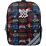WWE Grand Slam Wrestling Champion Icons 16 inch Backpack with Side Mesh Pockets